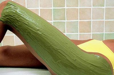Зеленая глина при лечении целлюлита