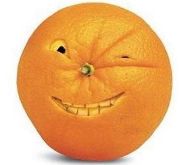 Апельсин - коварный враг каждой девушки
