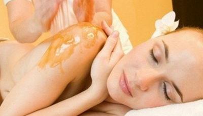 Медовый массаж от целлюлита