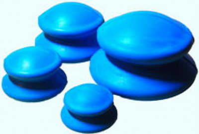 Силиконовые банки для антицеллюлитного массажа