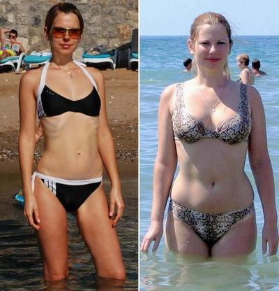 Монастырский чай до и после похудения