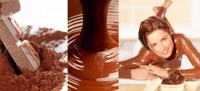 Домашнее обертывание с шоколадом