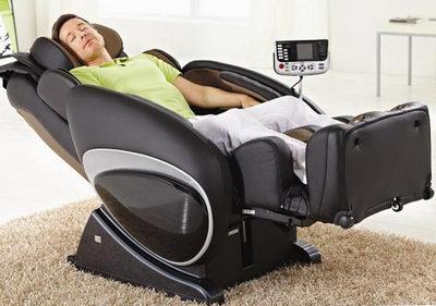 Массажное кресло - удобно и комфортно
