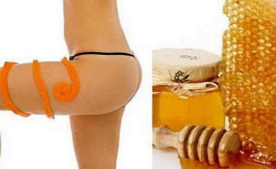Обертывание с медом против целлюлита