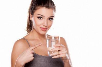 Вода для похудения при потере веса