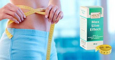 Капли для быстрого похудения Max Slim Effect