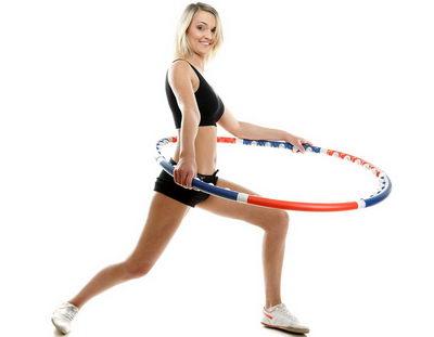 Упражнения с хула-хуп