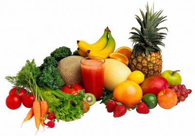 Фруктово-овощная диета для похудения