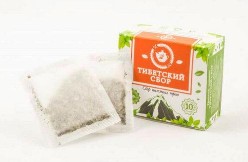 Тибетский сбор полезных трав для похудения